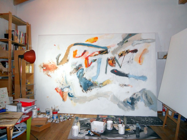 nikos kryondis acrylic on paper 2017  atelier